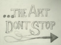 The Art Don't Stop - image 1 - student project