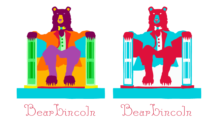 For a friend's band, Bear Lincoln - image 1 - student project