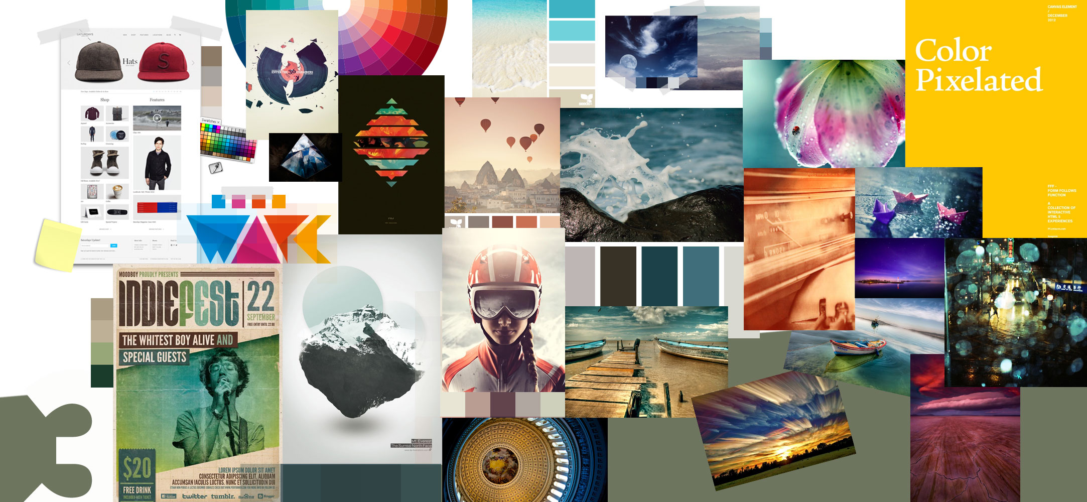 Square Design (Mood Boards)  - image 3 - student project