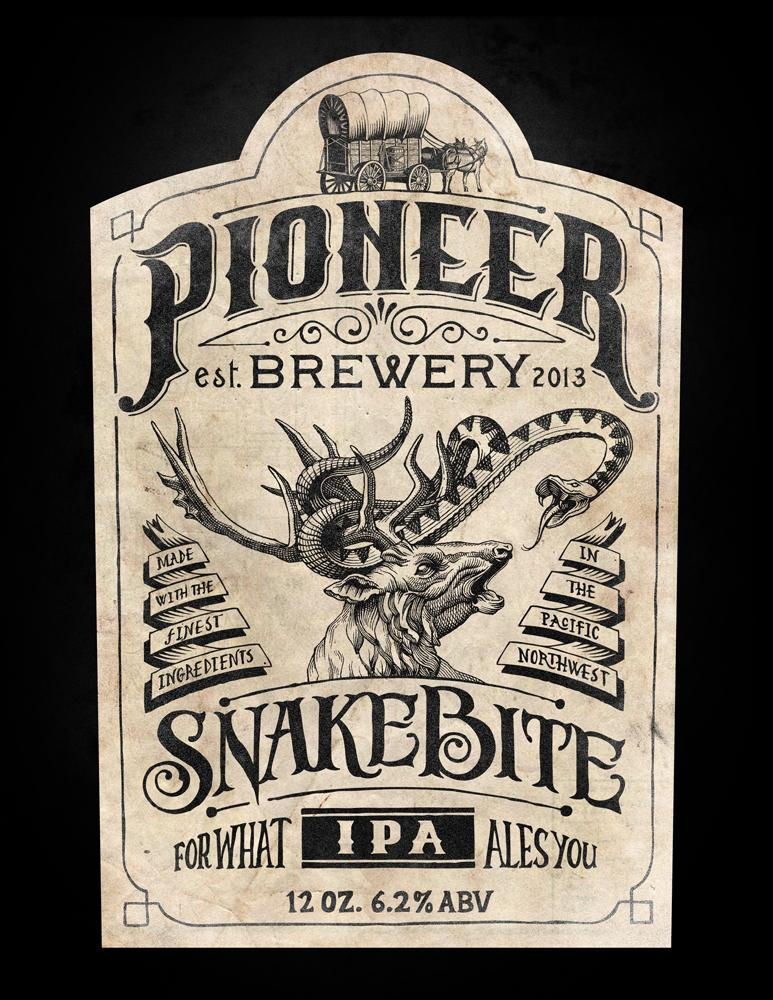 Pioneer Brewery: Snakebite IPA - image 5 - student project