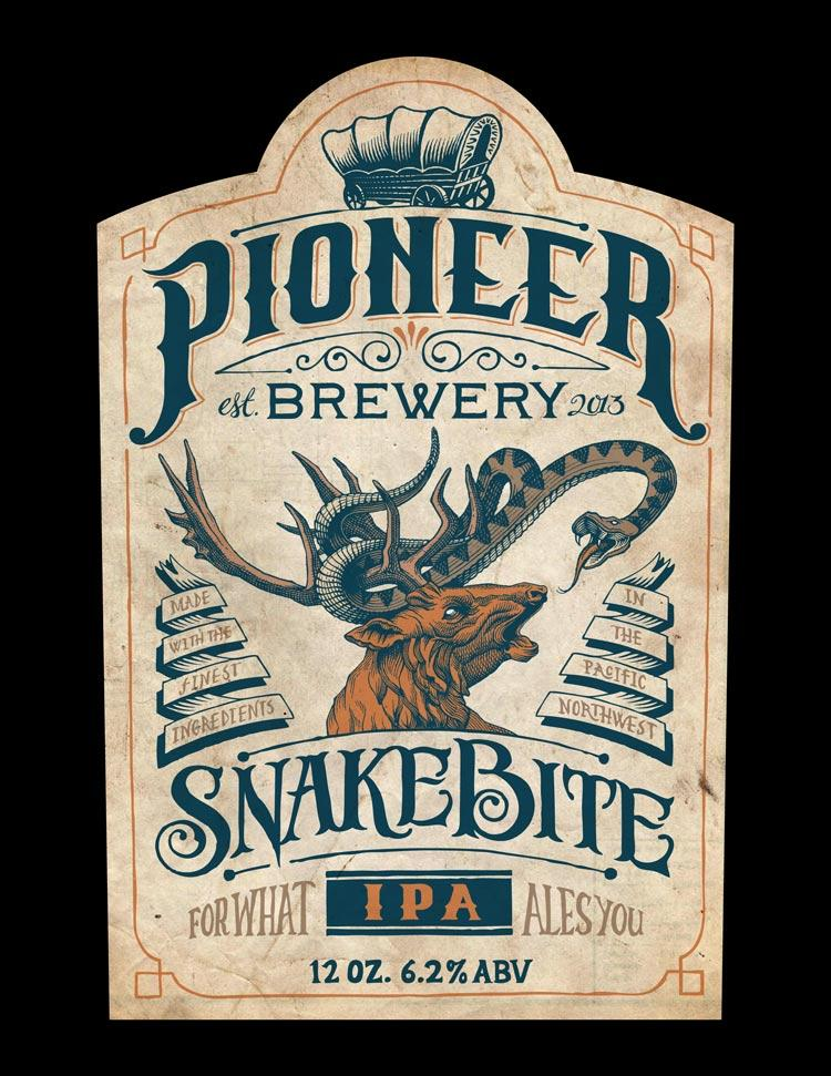 Pioneer Brewery: Snakebite IPA - image 8 - student project