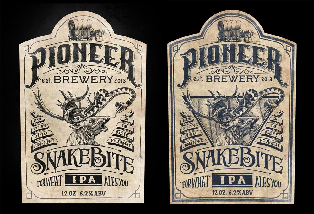 Pioneer Brewery: Snakebite IPA - image 2 - student project