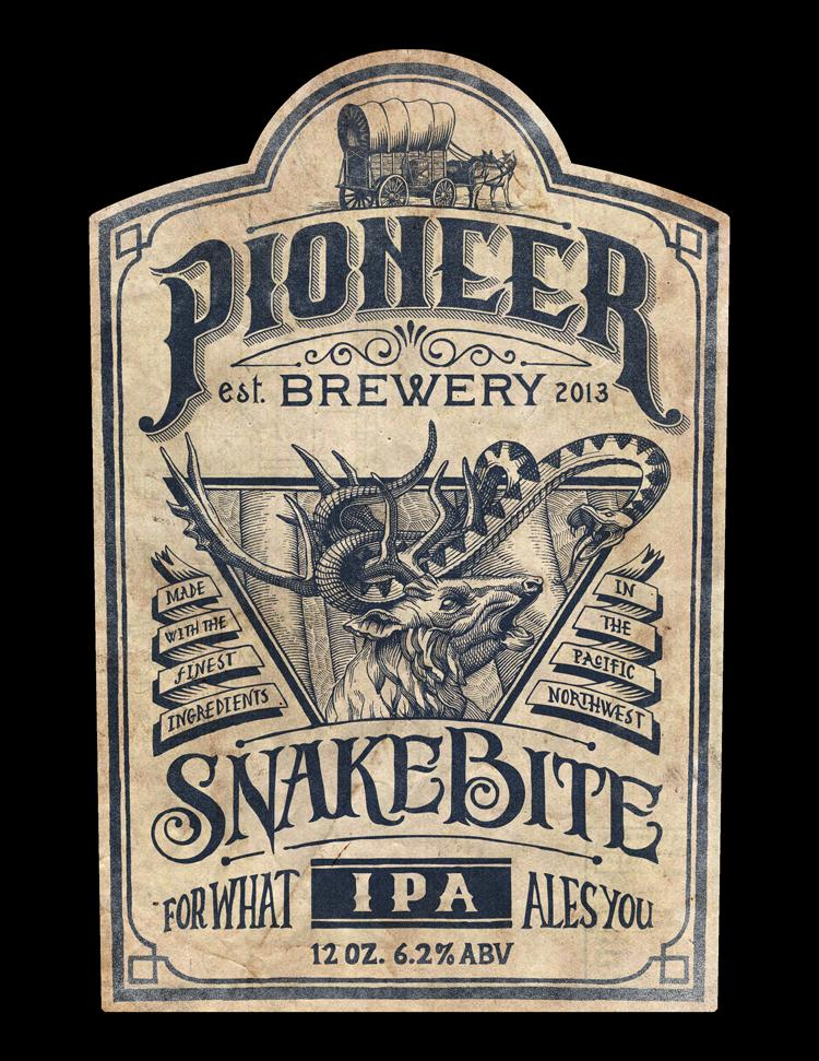 Pioneer Brewery: Snakebite IPA - image 1 - student project
