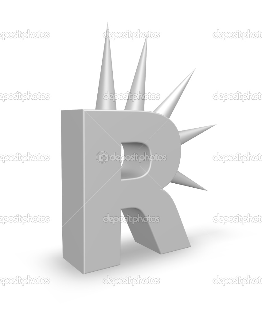 """Rudy Rude - """"R"""" logo lighting bolt separating single """"R"""" into two """"R""""'s.  -3d? Flat? - image 114 - student project"""