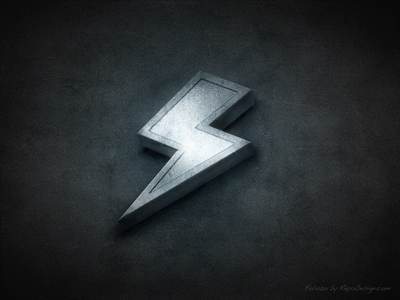 """Rudy Rude - """"R"""" logo lighting bolt separating single """"R"""" into two """"R""""'s.  -3d? Flat? - image 136 - student project"""