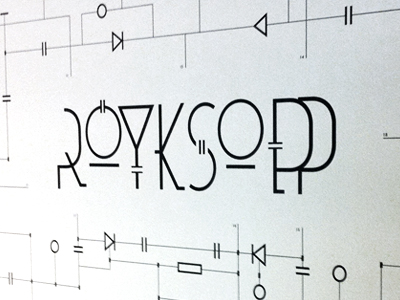"""Rudy Rude - """"R"""" logo lighting bolt separating single """"R"""" into two """"R""""'s.  -3d? Flat? - image 91 - student project"""