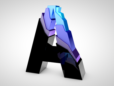 """Rudy Rude - """"R"""" logo lighting bolt separating single """"R"""" into two """"R""""'s.  -3d? Flat? - image 67 - student project"""