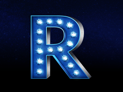 """Rudy Rude - """"R"""" logo lighting bolt separating single """"R"""" into two """"R""""'s.  -3d? Flat? - image 92 - student project"""
