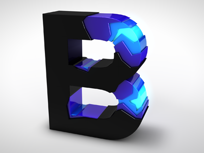 """Rudy Rude - """"R"""" logo lighting bolt separating single """"R"""" into two """"R""""'s.  -3d? Flat? - image 69 - student project"""