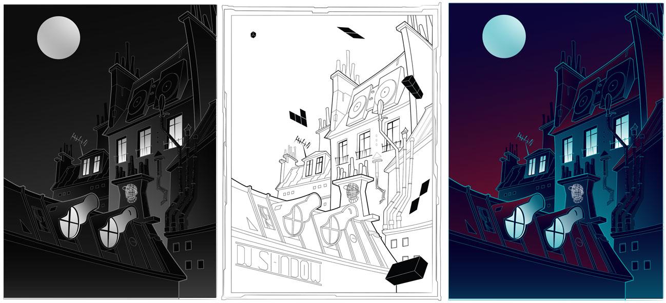 DJ Shadow, March 1st, Social club - Paris, France - image 8 - student project