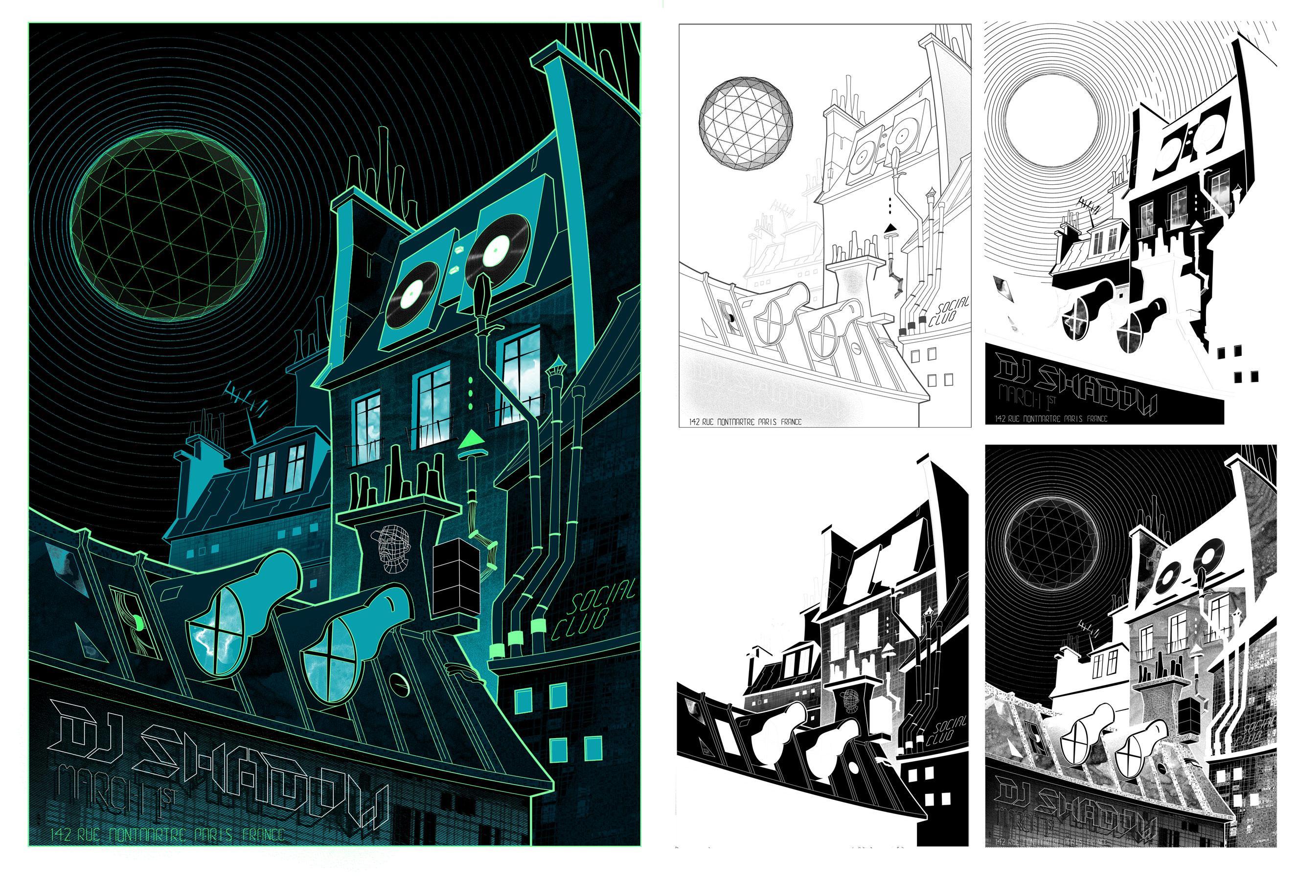 DJ Shadow, March 1st, Social club - Paris, France - image 1 - student project