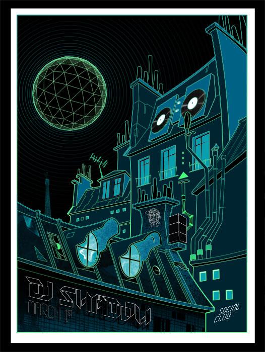 DJ Shadow, March 1st, Social club - Paris, France - image 4 - student project