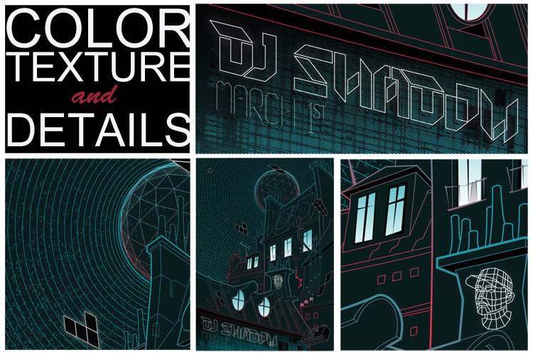 DJ Shadow, March 1st, Social club - Paris, France - image 6 - student project