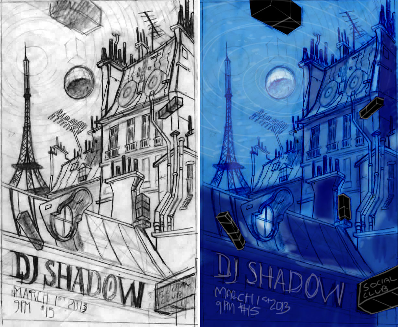 DJ Shadow, March 1st, Social club - Paris, France - image 11 - student project