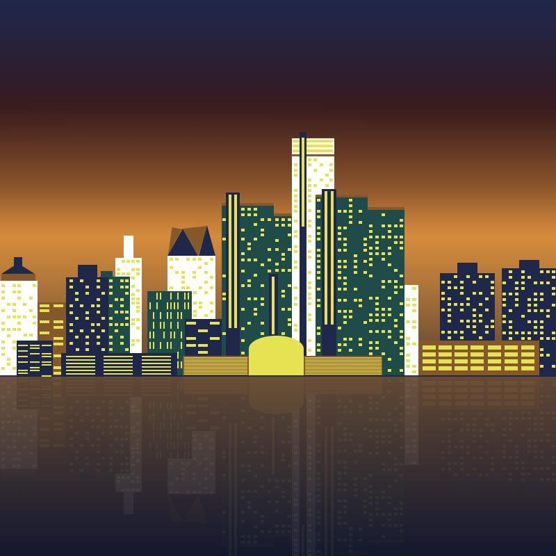 Detroit Riverfront - image 4 - student project