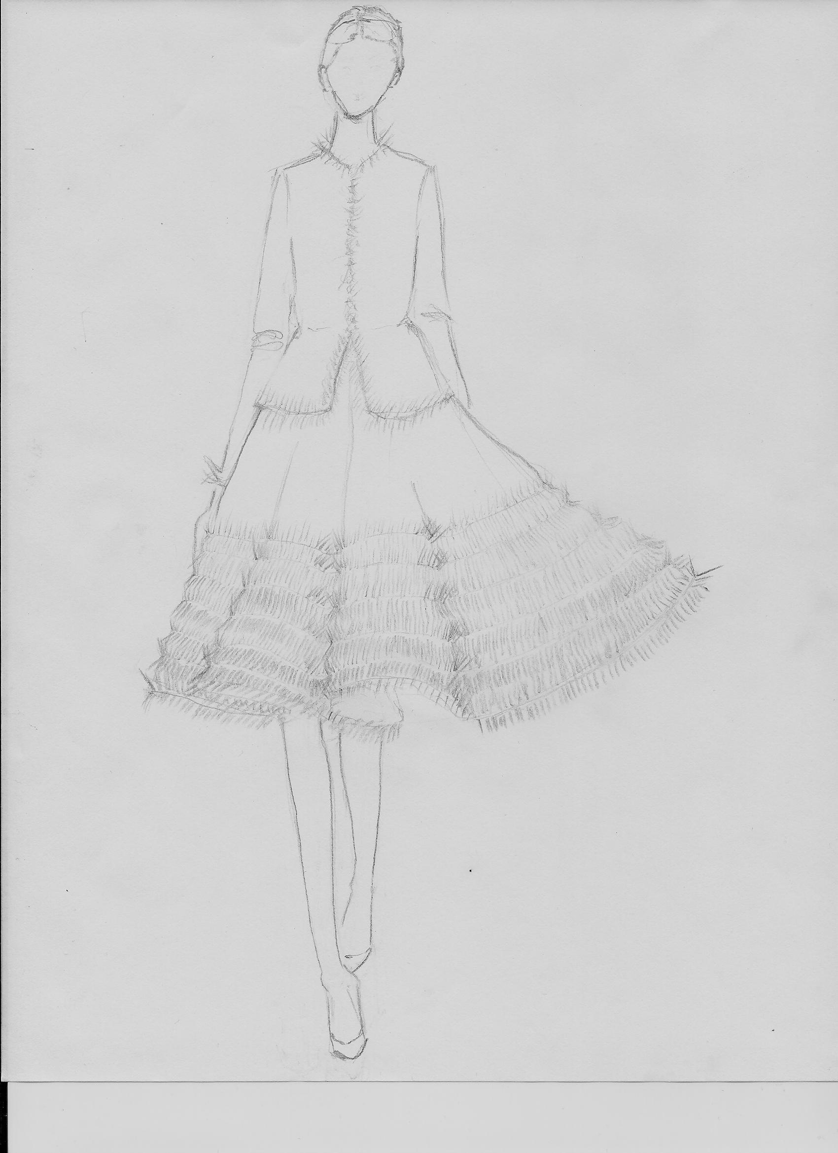 Sketch - Candid frills - image 2 - student project