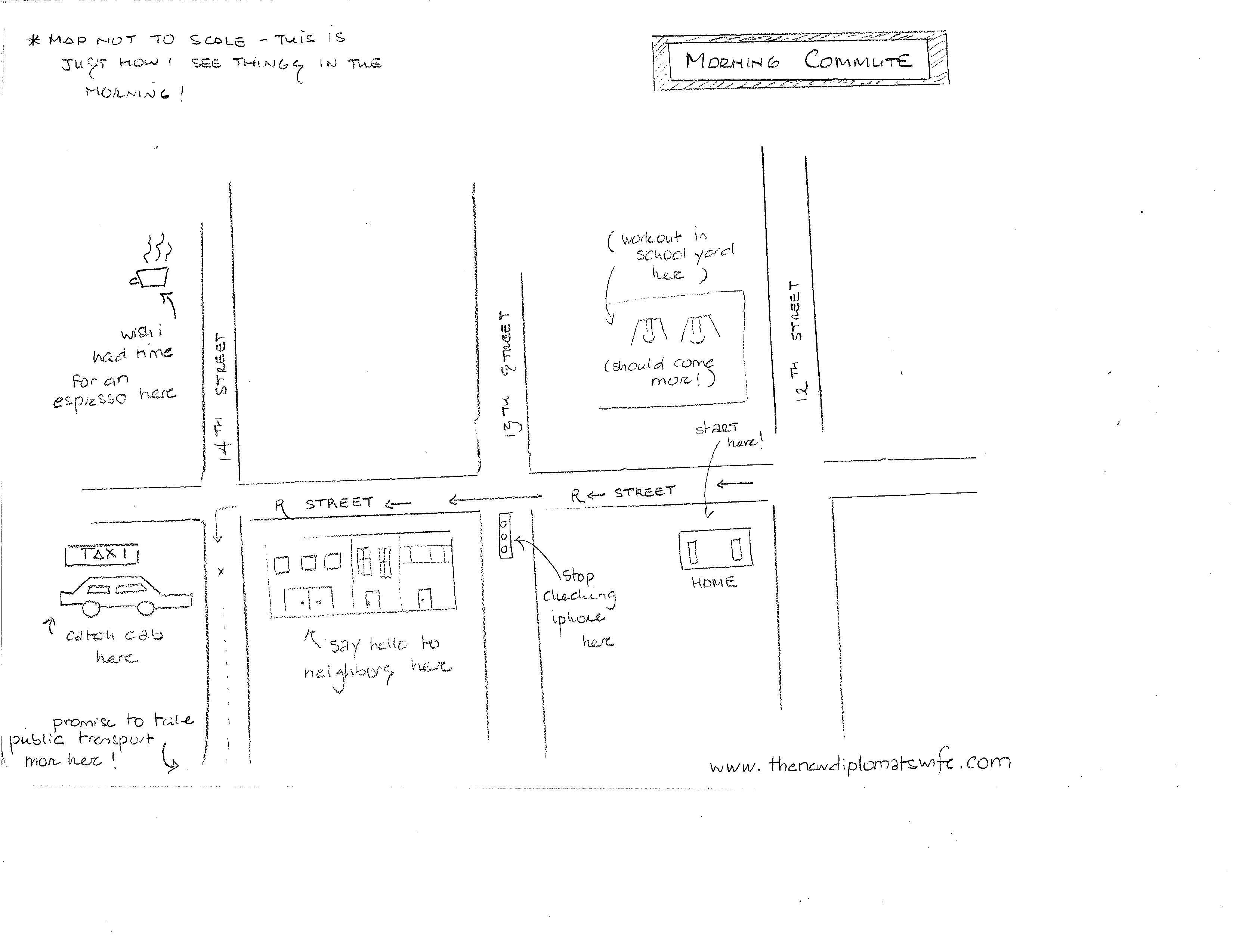 The Hand Drawn Commute... - image 1 - student project