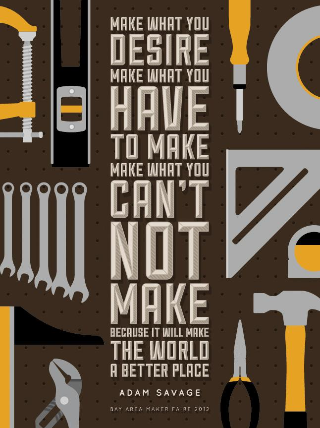 """Adam Savage - """"Why We Make"""" - image 7 - student project"""