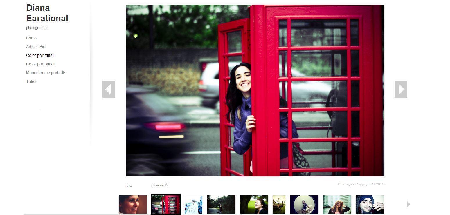 Photography Portfolio - image 1 - student project