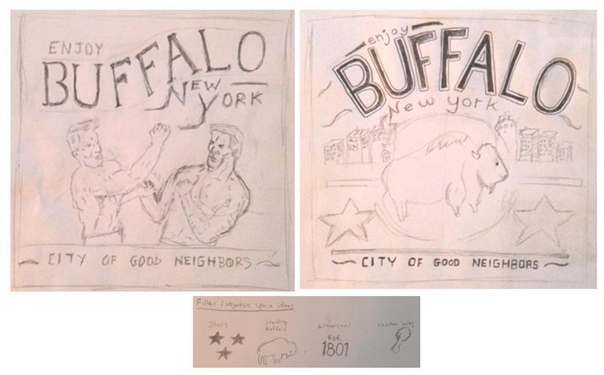 My Buffalo Shirt - image 6 - student project