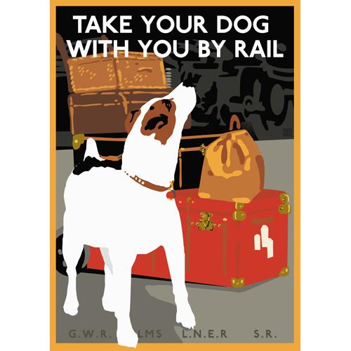 Take Your Jack Russell by Rail - image 1 - student project