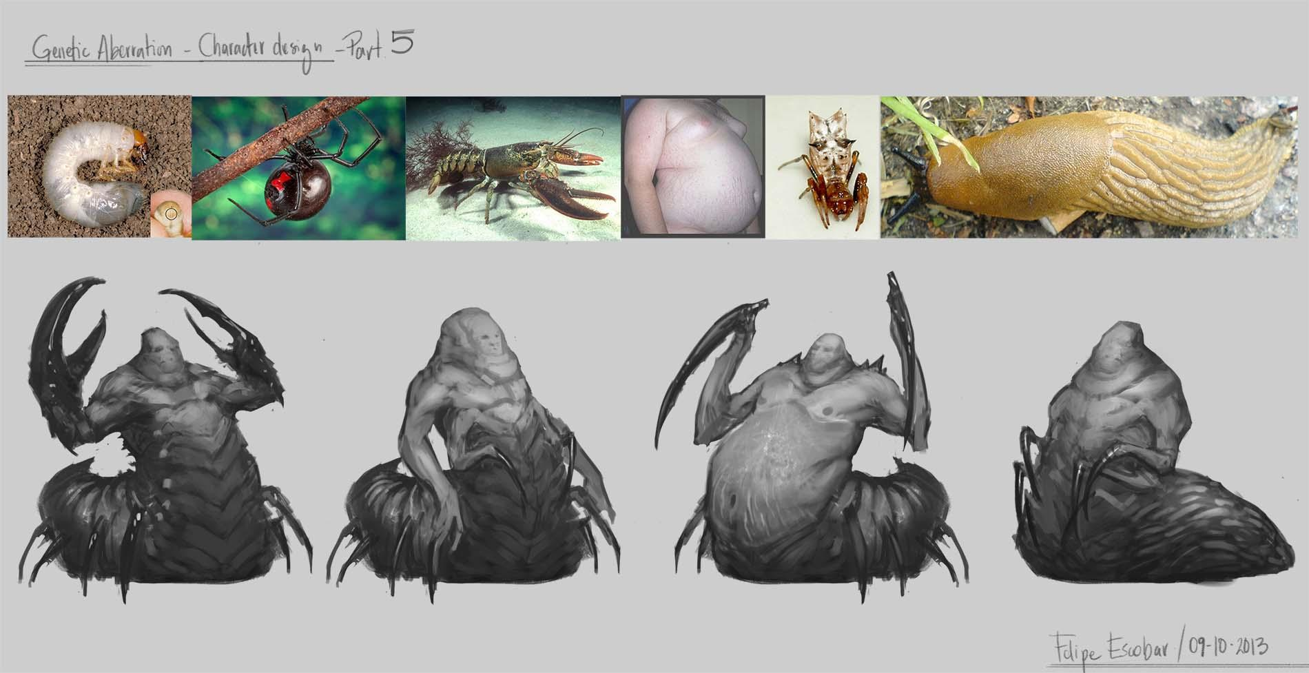 Genetic Aberration - Character design  - image 5 - student project