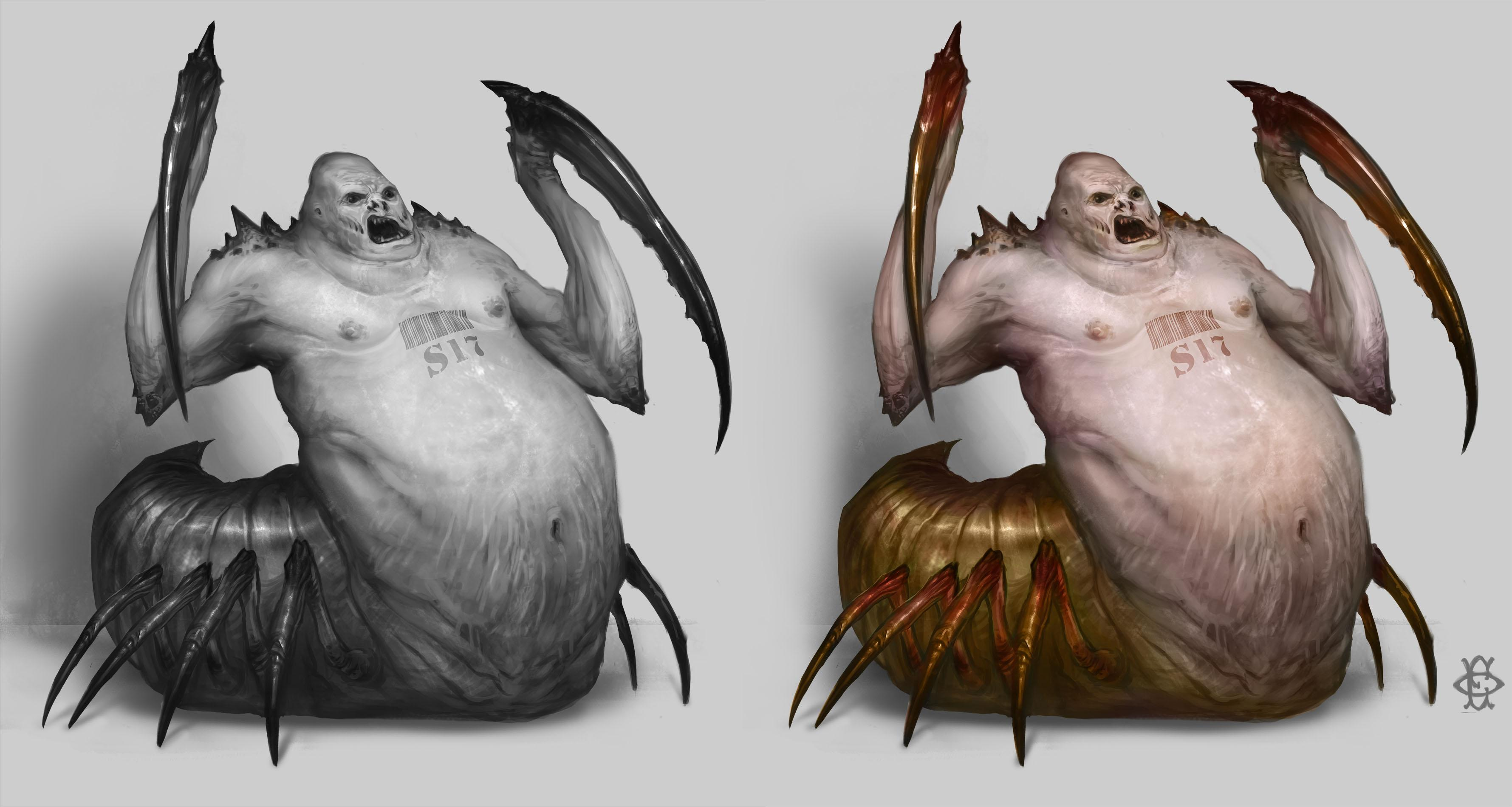 Genetic Aberration - Character design  - image 6 - student project