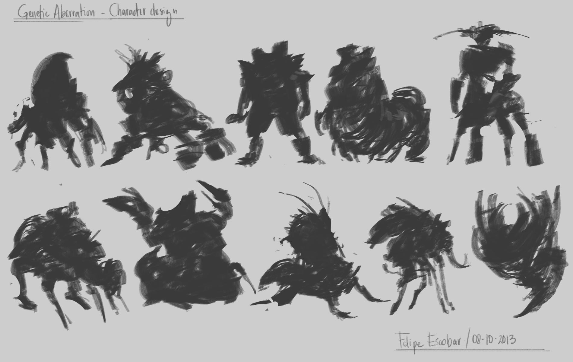 Genetic Aberration - Character design  - image 1 - student project