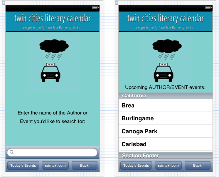 Twin Cities Literary Calendar  - image 2 - student project
