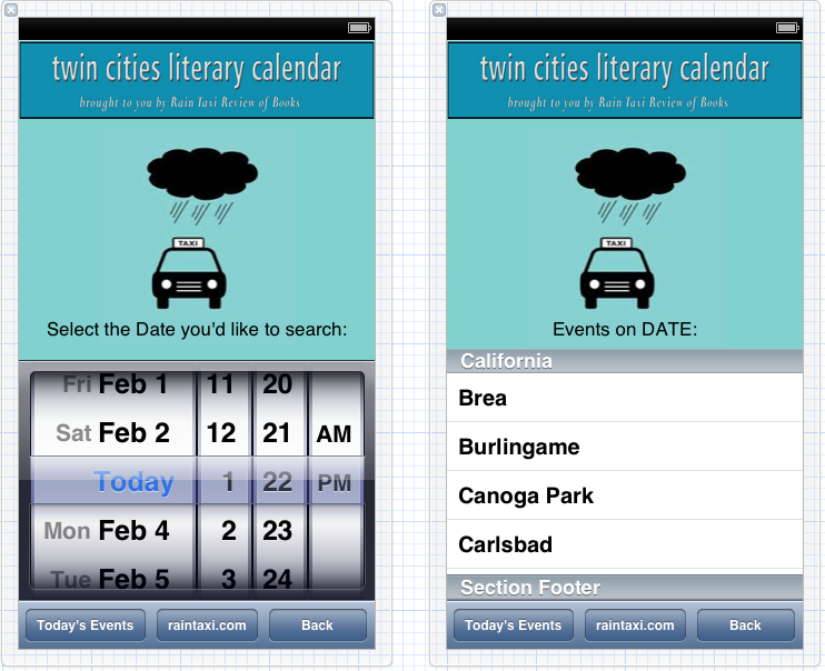 Twin Cities Literary Calendar  - image 4 - student project