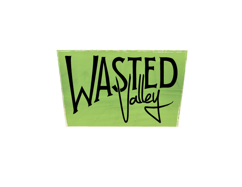 Wasted Valley Logo - image 1 - student project