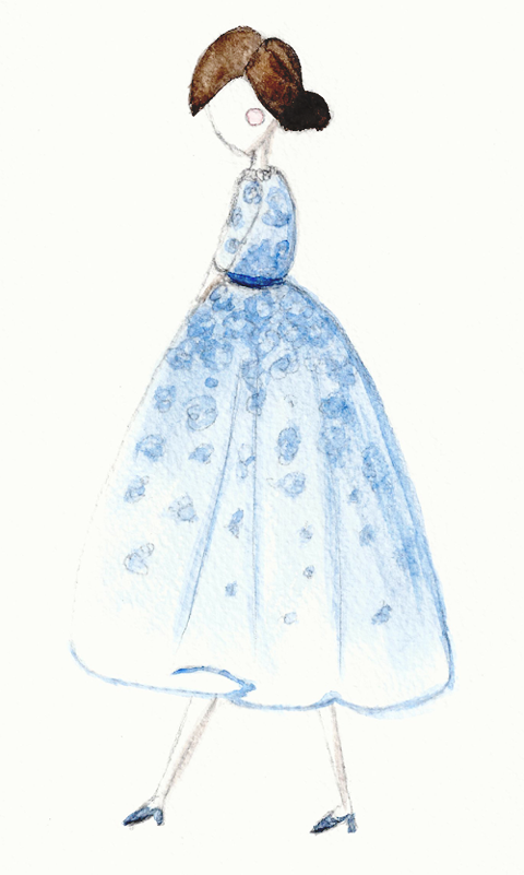 EMBELLISHED WATERCOLOUR SKETCHES Beautiful Details - image 2 - student project