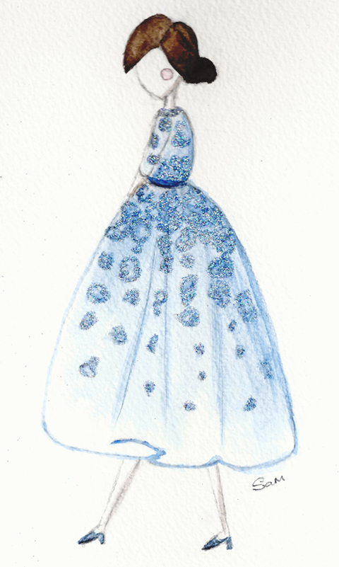 EMBELLISHED WATERCOLOUR SKETCHES Beautiful Details - image 1 - student project