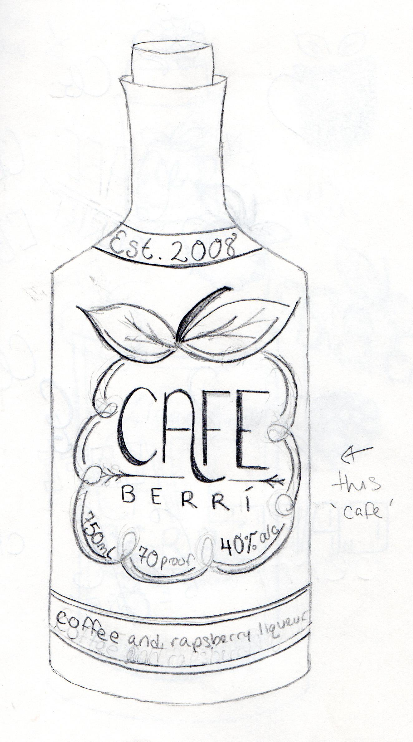 Cafe Berrí - image 5 - student project