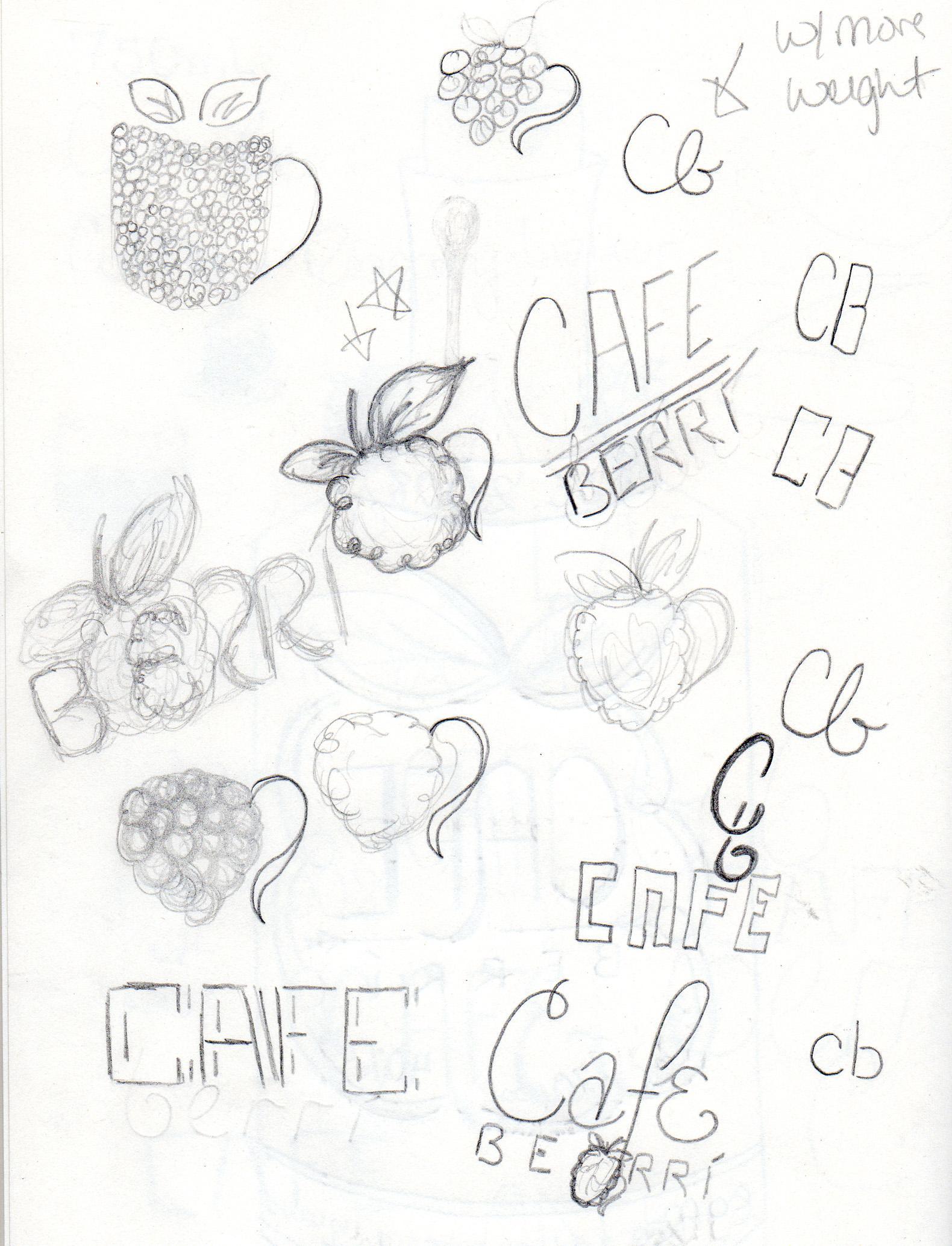 Cafe Berrí - image 3 - student project