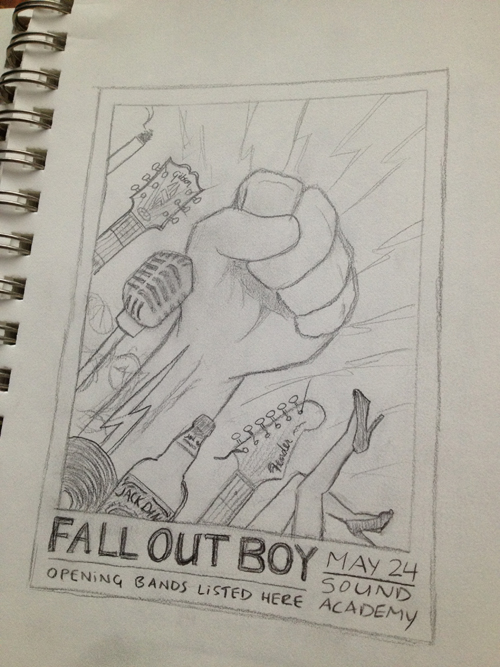 Fall Out Boy - image 3 - student project