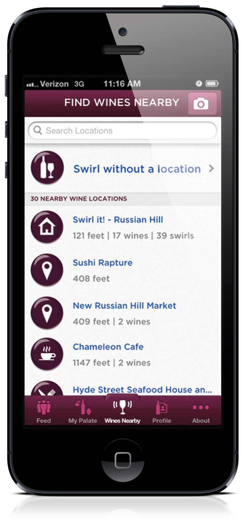 Swirl it! Taste-Based wine Recommendation App - image 1 - student project