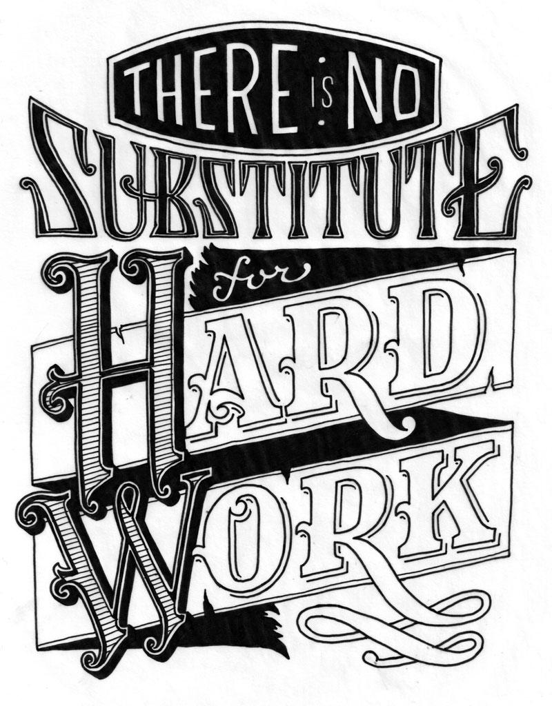 There is No Substitute for Hard Work - image 15 - student project