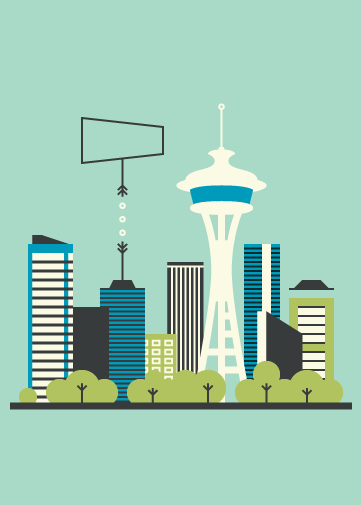 Seattle Postcard - image 4 - student project