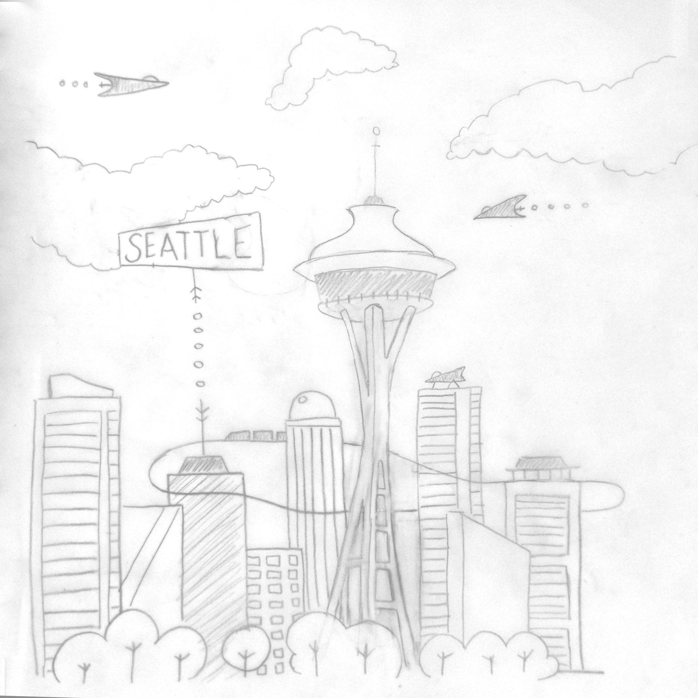 Seattle Postcard - image 1 - student project