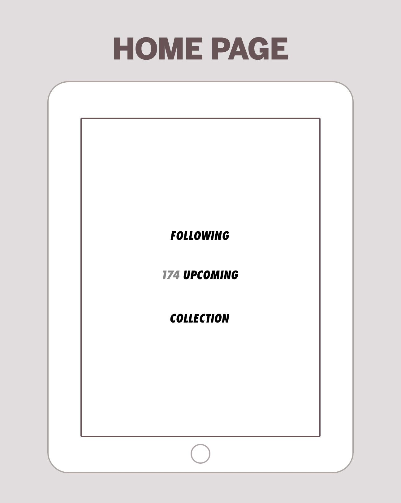 iPad RSS Reader - image 7 - student project