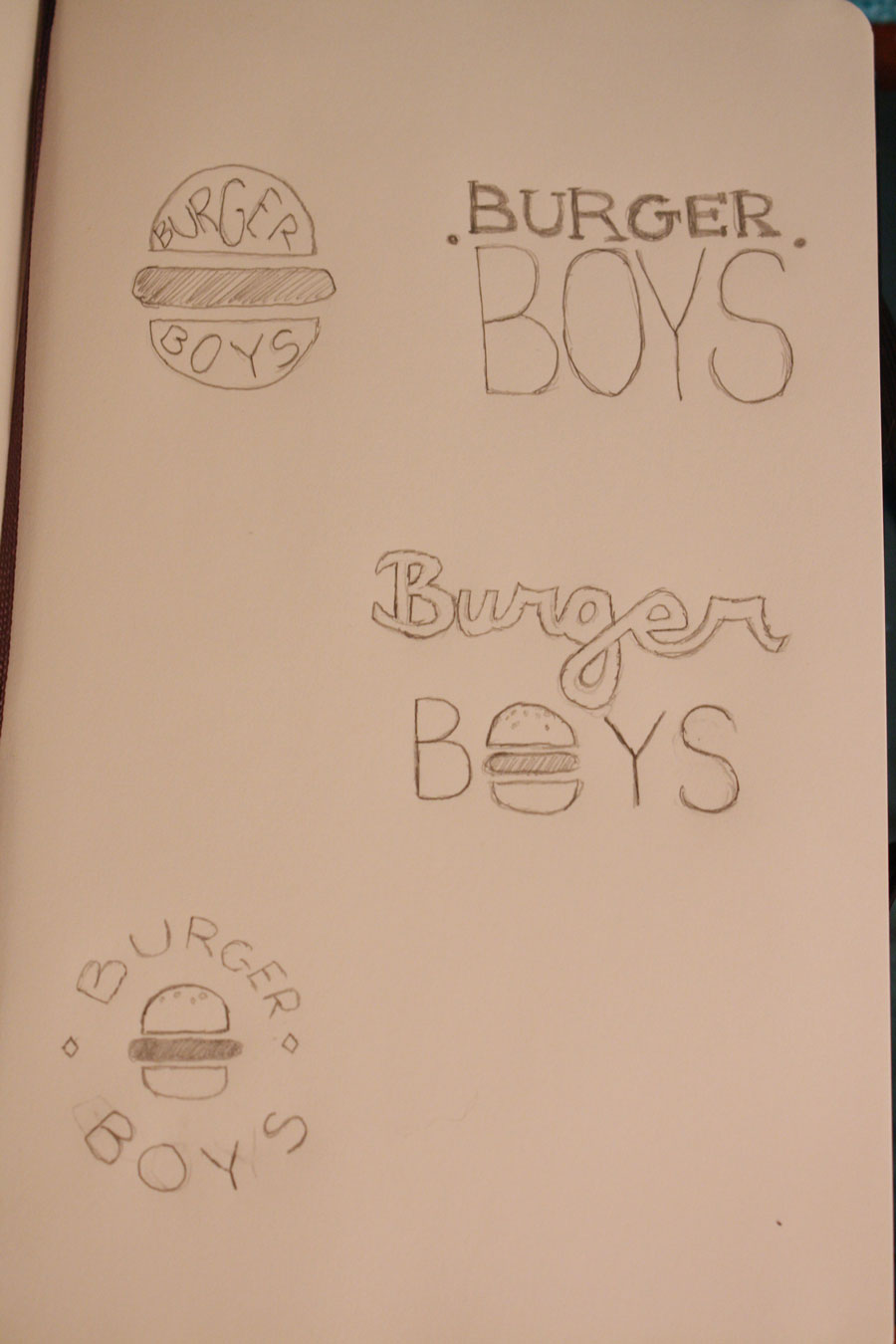Burger Boys Logo Project - image 1 - student project