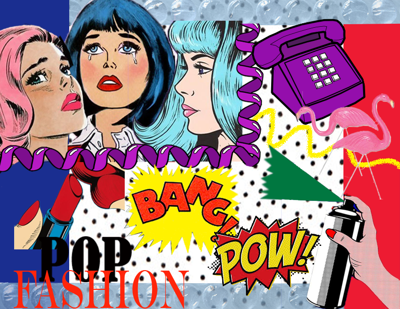 Pop Fashion by Traci Ciccarelli  - image 1 - student project