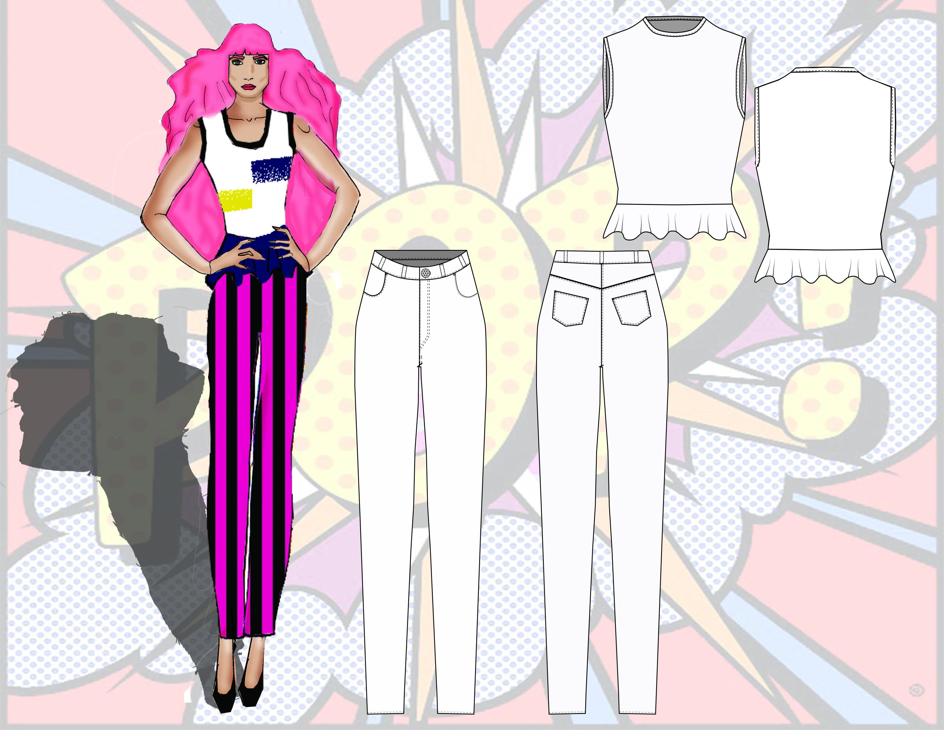 Pop Fashion by Traci Ciccarelli  - image 6 - student project