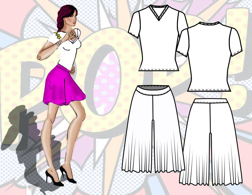 Pop Fashion by Traci Ciccarelli  - image 5 - student project