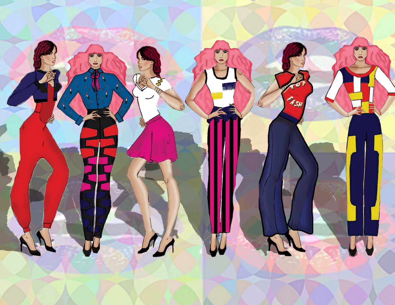 Pop Fashion by Traci Ciccarelli  - image 3 - student project