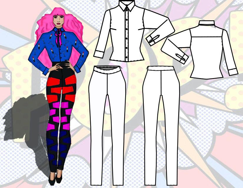 Pop Fashion by Traci Ciccarelli  - image 8 - student project