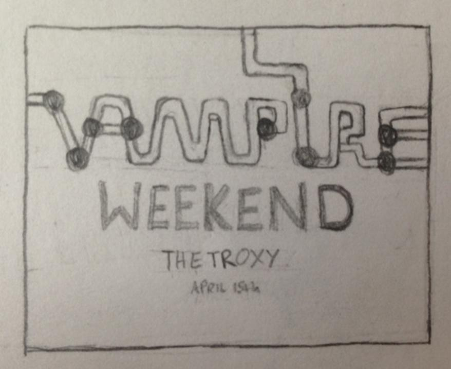 Vampire Weekend @ London - image 10 - student project