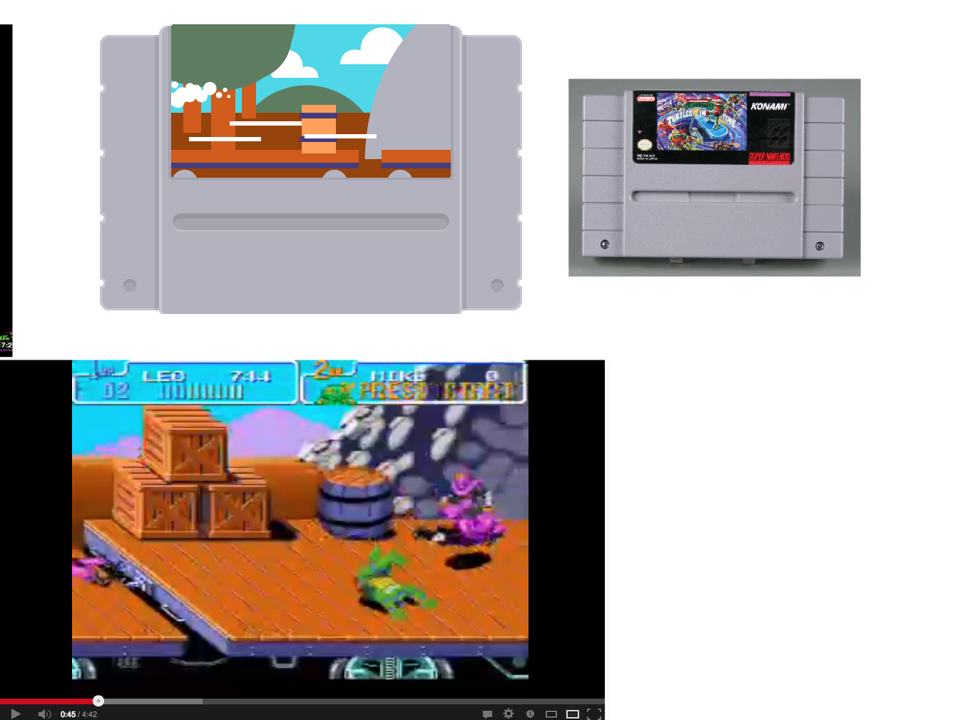 TMNT: Turtles in Time Levels - image 12 - student project