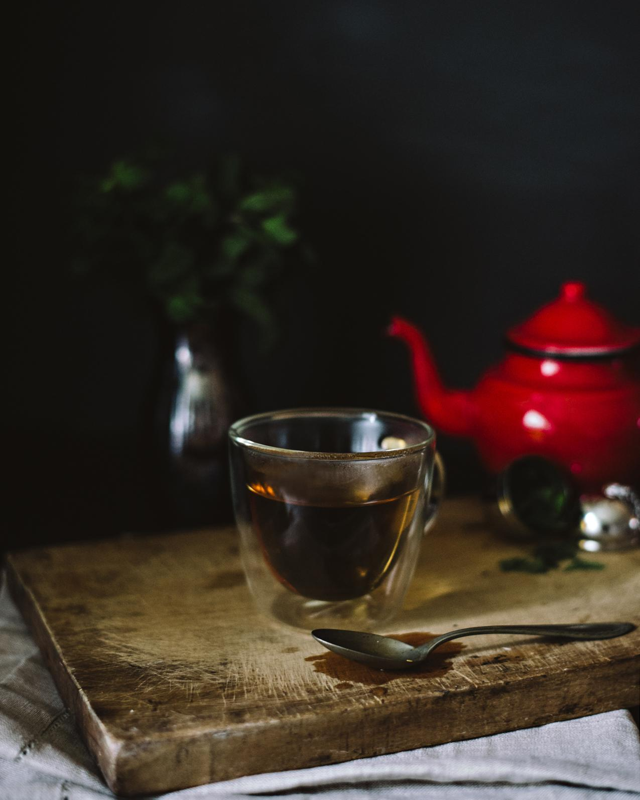 Cozy afternoon tea - image 3 - student project